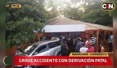Tres fallecidos en accidente en la zona de Canindeyú