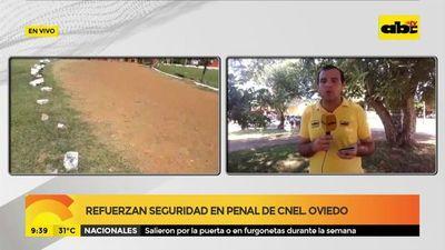 Refuerzan seguridad en penal de Coronel Oviedo