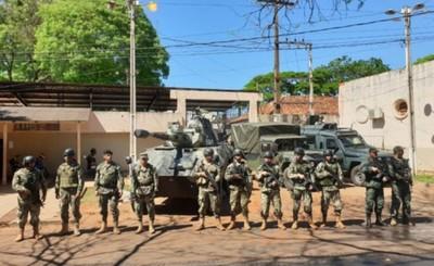 """Seguridad de la Cárcel Regional de CDE es reforzada tas """"fuga masiva"""""""