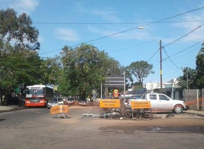 Desde el miércoles se cierra media calzada de la Ruta PY01 en San Lorenzo