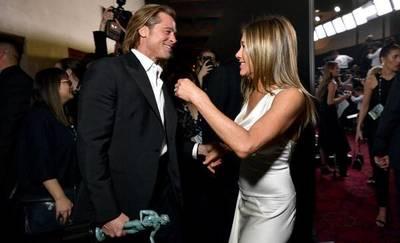 Brad Pitt y Jennifer Aniston acaparan el protagonismo en los premios SAG