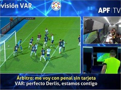 APF divulga imágenes y audios del VAR tras primera fecha