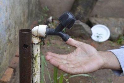Problemas de servicio de agua en varias zonas de Asunción y Luque.