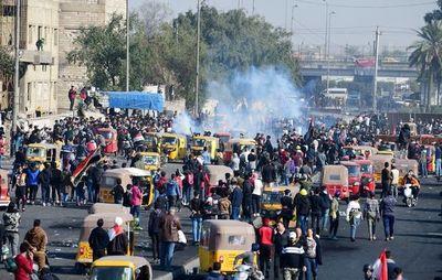 Crecen las manifestaciones en Irak