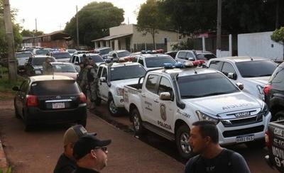 HOY / Allanamientos en Pedro Juan: sitian barrios y demoran a indocumentados