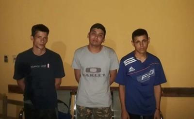 """Tres """"fugados"""" recapturados por la FTC en Concepción"""