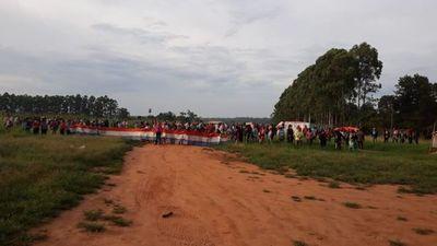 Unos mil policías para desalojo en 3 de Noviembre