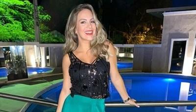 Así celebra Maga Páez su séptimo mes de embarazo