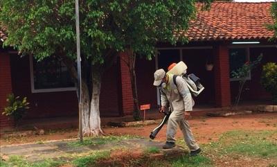MEC y SENEPA inician trabajos de fumigación de escuelas antes de inicio de clases