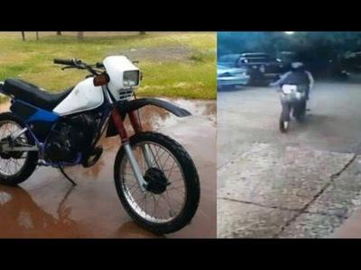 HURTAN MOTOCICLETA EN PLENO CENTRO DE ENCARNACIÓN