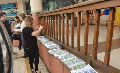 HOY / Pedía US$ 6.000 a turista brasileño: cae extorsionador y buscan desbaratar esquema