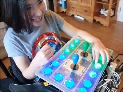 Adaptó control para que su hija con discapacidad pueda jugar Legend of Zelda