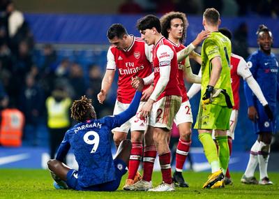 Chelsea y Arsenal igualan en Stamford Bridge