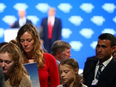 Trump y Thunberg protagonizan un nuevo cruce de acusaciones