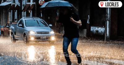 Mitad de semana con clima cálido y precipitaciones