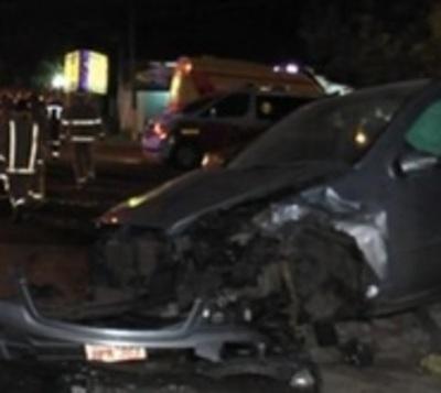 Imprudencia deja cinco heridos tras accidente en Capiatá