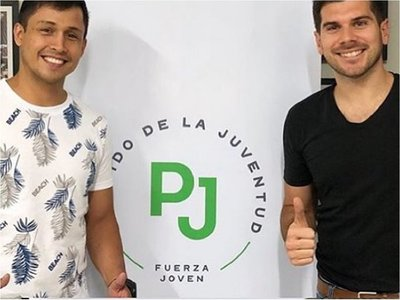 Bailarín se precandidata a concejal de San Lorenzo
