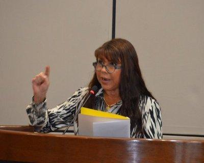El presidente es responsable de la fuga de presos en PJC, según diputada Amarilla