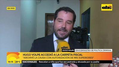 """""""Carpeta pusimos a disposición del Brasil"""""""