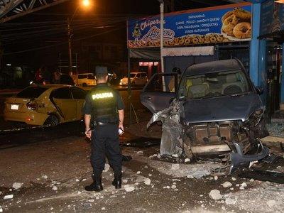 Accidente en ruta deja cinco heridos en Capiatá