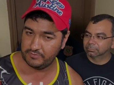 Detienen a presunto sicario en Pedro Juan Caballero