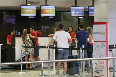 Salud establece controles en aeropuertos para evitar ingreso de coronavirus