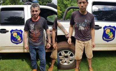 Recapturan a dos reos fugados del penal de PJC