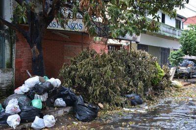 Vecinos de San Vicente reclaman falta de recolección de basura