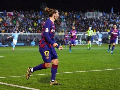 Griezmann salva al Barcelona del papelón