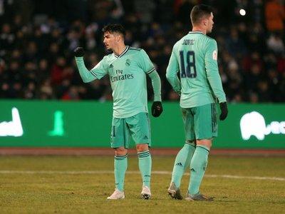 Real Madrid salva su estreno en la Copa del Rey