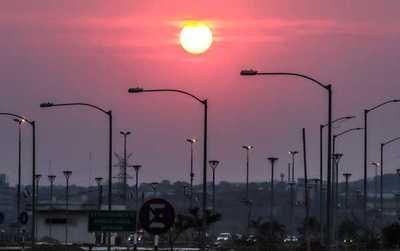 Se anuncia un día cálido a caluroso con vientos del sureste