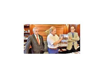 Durand asegura que ya pagó adelanto y en febrero proseguirán  obras  en  Mariano