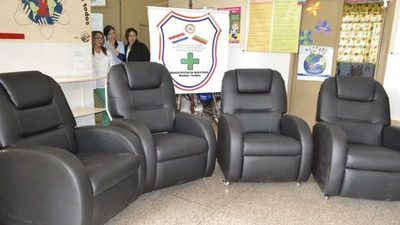 Adquieren 430 sillones de hidratación