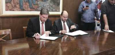 Firman convenio de cooperación interinstitucional entre la INC y Essap
