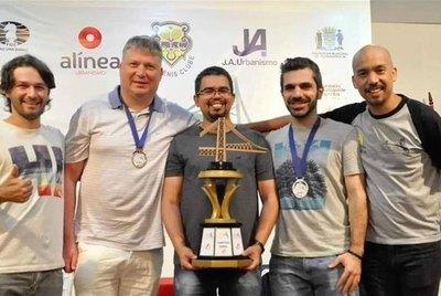 Neuris Delgado gana el Floripa Super Blitz 2020 de Brasil