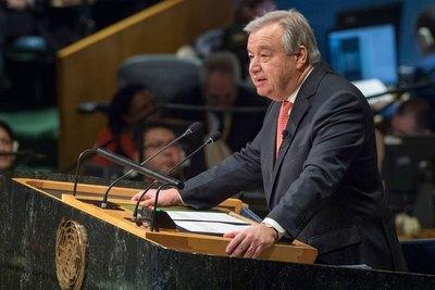 """El secretario general de la ONU alerta de los cuatro """"Jinetes del Apocalipsis"""" que amenazan al mundo"""