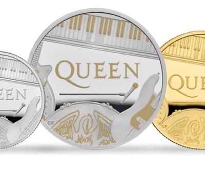 Queen tendrá moneda conmemorativa en Reino Unido