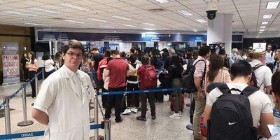 Coronavirus: empezaron los controles específicos en el aeropuerto Silvio Pettirossi