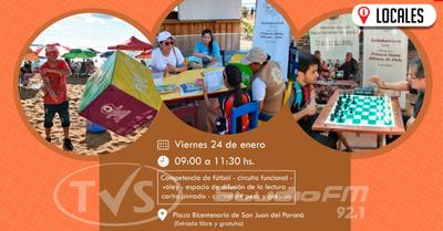 Realizarán actividades físicas y controles médicos en San Juan del Paraná
