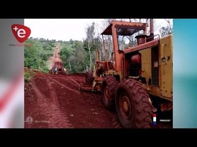 GOBERNACIÓN DE ITAPÚA INICIA OBRAS VIALES
