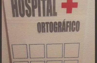 Ingeniosa profesora abre 'Hospital Ortográfico' para que sus alumnos aprendan a escribir