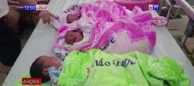 Nacen trillizos en Ciudad del Este