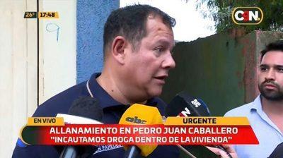 Detienen a brasileño durante allanamiento de prostíbulo en PJC
