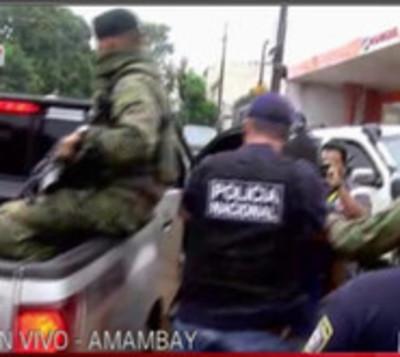 Capturan a un brasileño en Pedro Juan Caballero