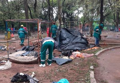 Titular pyahu Área Verde Paraguaýpe omoañete omba'apóta omohenda porã jey haguã Parque Caballero