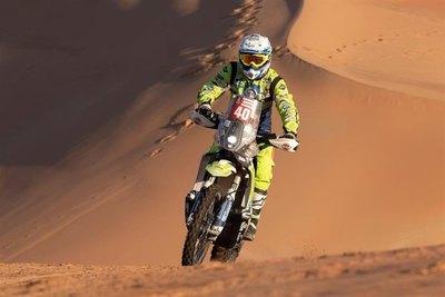 Muere motociclista holandés que fue víctima de accidente en el Dakar