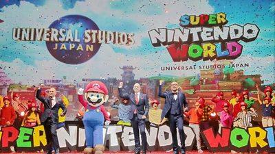 Jugar Super Nintendo World en tamaño real será una realidad: Nintendo crea parque temático en Japón