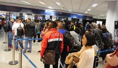 Migraciones participa de acciones para la detección de posibles casos de coronavirus en aeropuertos