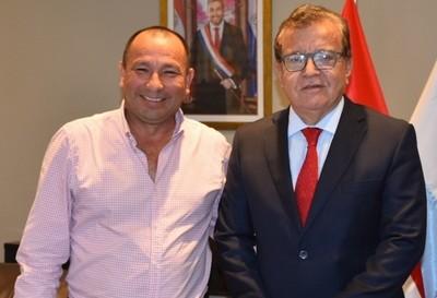 EBY apoyará proyectos de infraestructura en San Cosme y Damián
