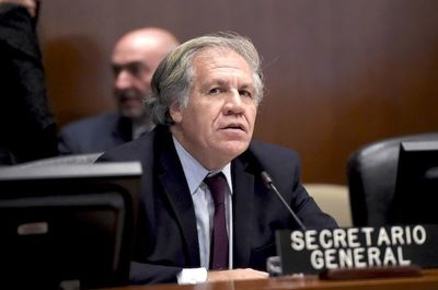 Canciller de Bolivia anuncia apoyo a la reelección de Almagro en la OEA
